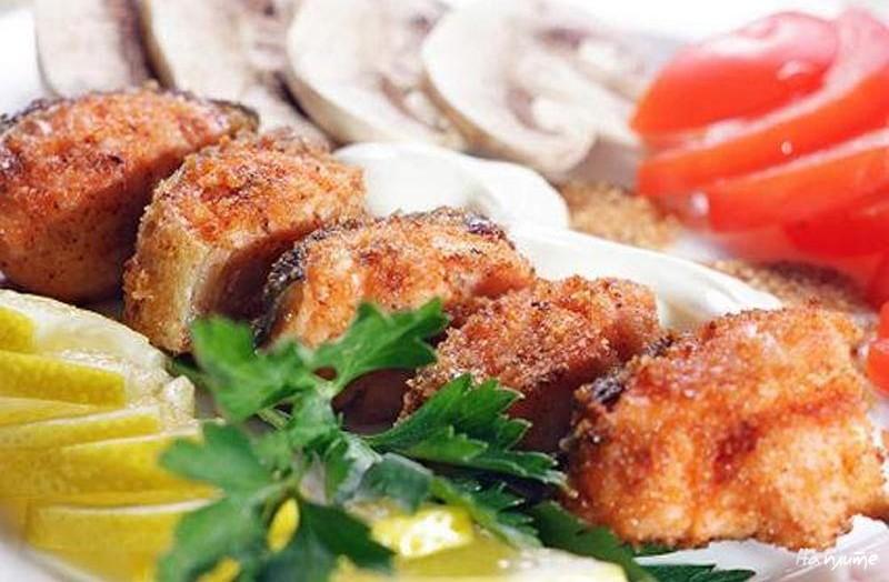 Рыбный кебаб