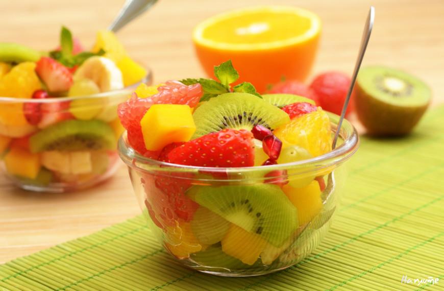 Тропический фруктовый салат