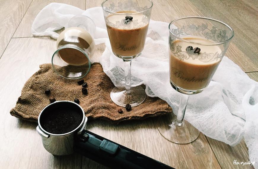 Панна котта с кофейным вкусом