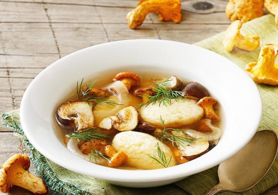Грибные супы