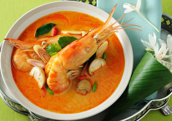 Супы из морепродуктов
