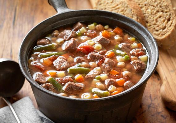 Супы с фасолью, бобовыми