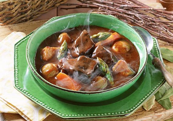 Супы с говядиной, телятиной