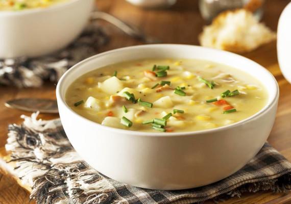 Супы с курицей и др. птицей
