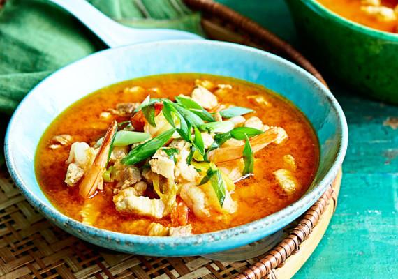 Супы со свининой